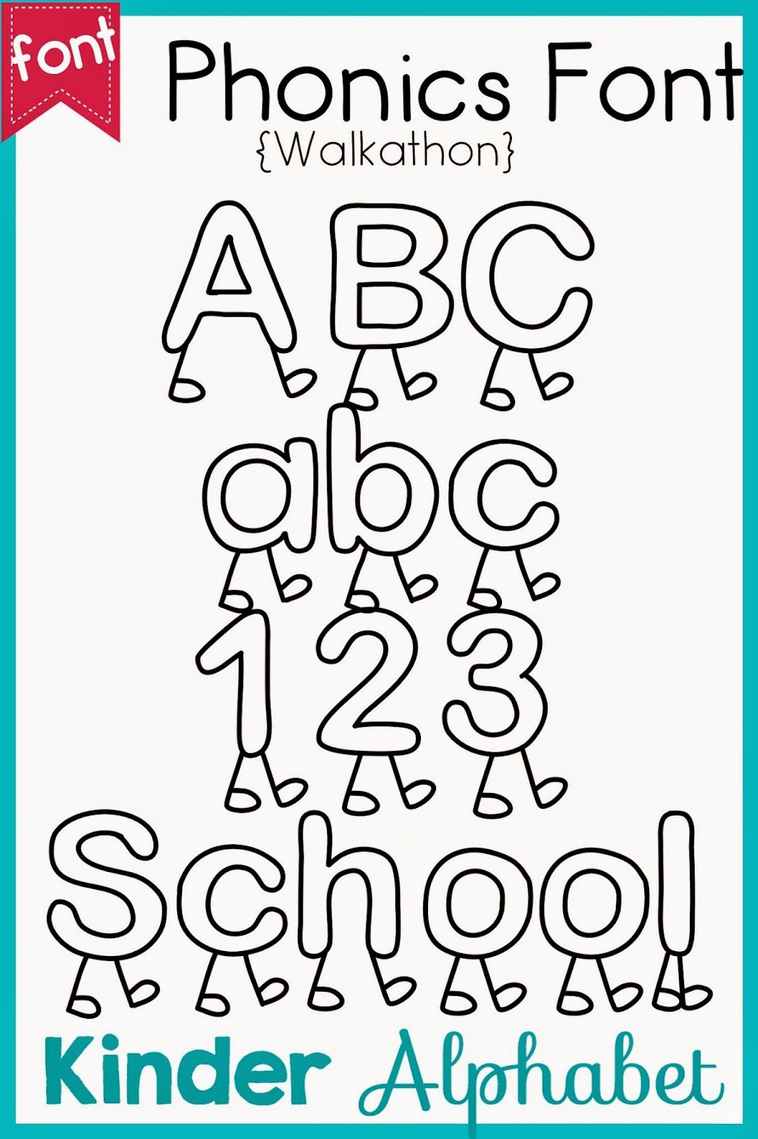 32 Fun Phonics Fonts For Teachers This One Is Called