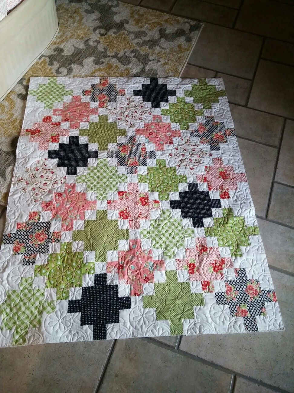 Pin on E2E quilting samples by Olie & Evie