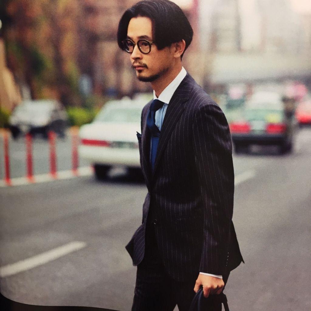 長岡 亮介 長岡亮介 メンズファッション 40代 髪型