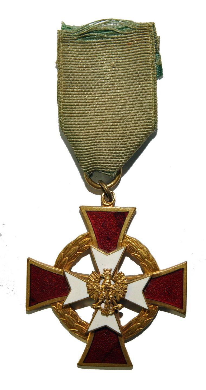 Krzyz Krola Kurkowego Katowice 1935 Emalia Orzel 7026499419 Oficjalne Archiwum Allegro Medals