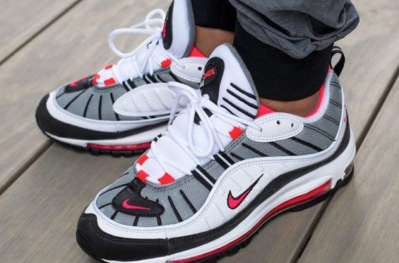 Nike WMNS Air Max 98 Solar Red Releasing This Week | Scarpe