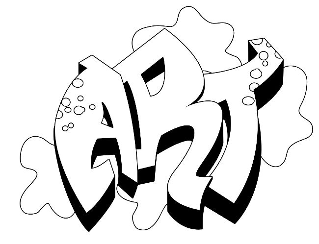 Graffiti Coloring Pages For Teens And Adults Best Coloring Pages For Kids Graffiti Drawing Graffiti Names Graffiti