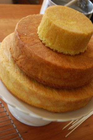 DIY: Make a Homemade Wedding Cake   Mr. & Mrs.   Pinterest   Wedding ...