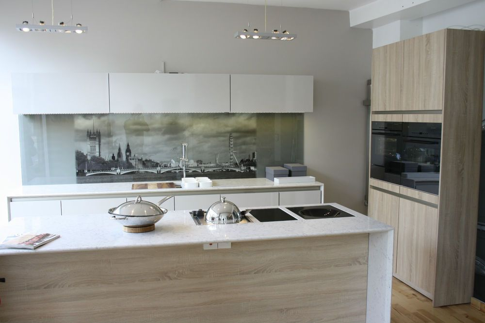 Ex Display Siematic kitchen ebay  combining materials, combination