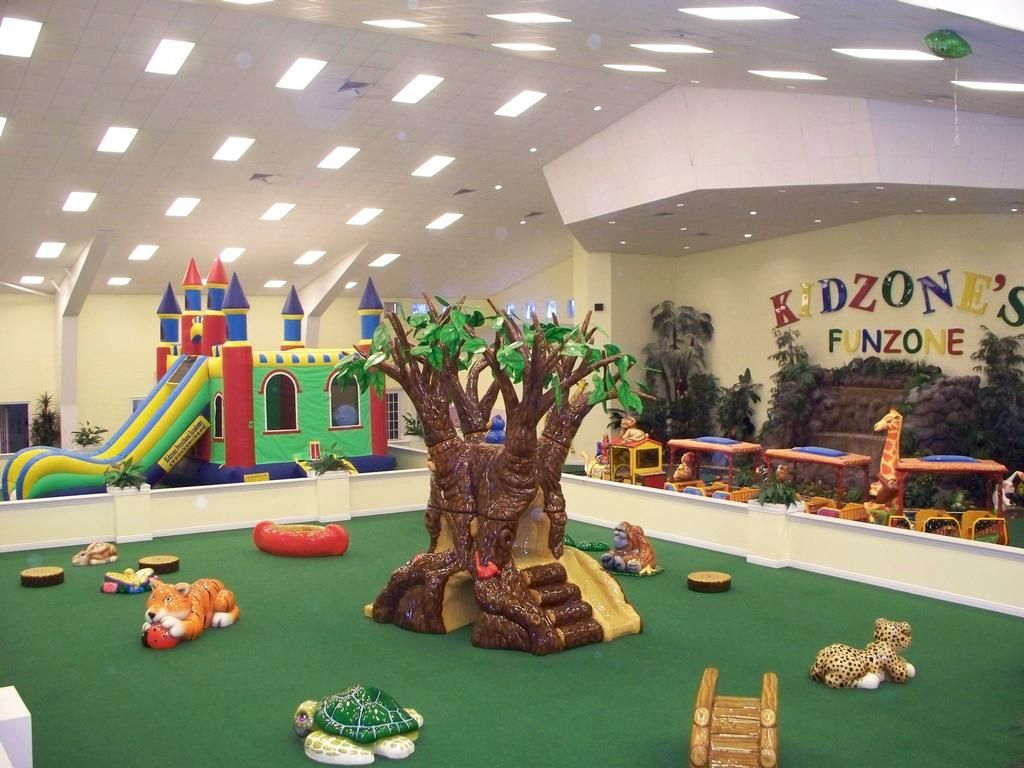 Indoor playground interior design for kidzone preschool for Indoor playground design ideas