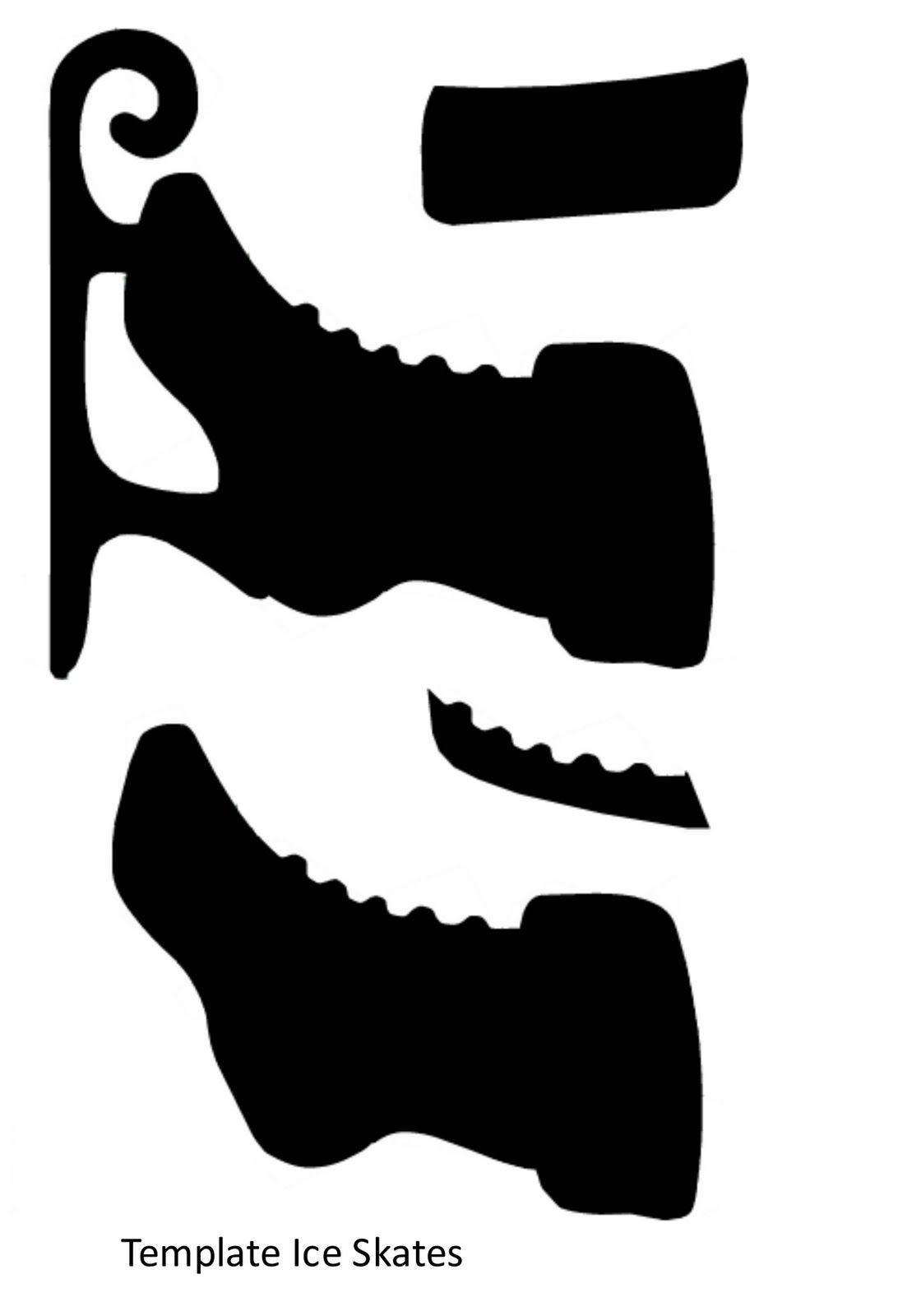 Ice skates | askartelu joulu, itsenäisyyspäivä | Pinterest ...