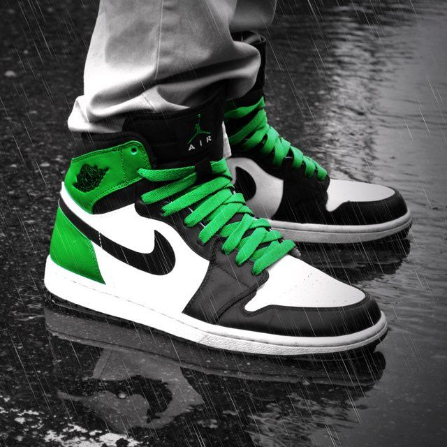 Air Jordan 1 High Retro Boston Celtics in 2019  a5e3f37833