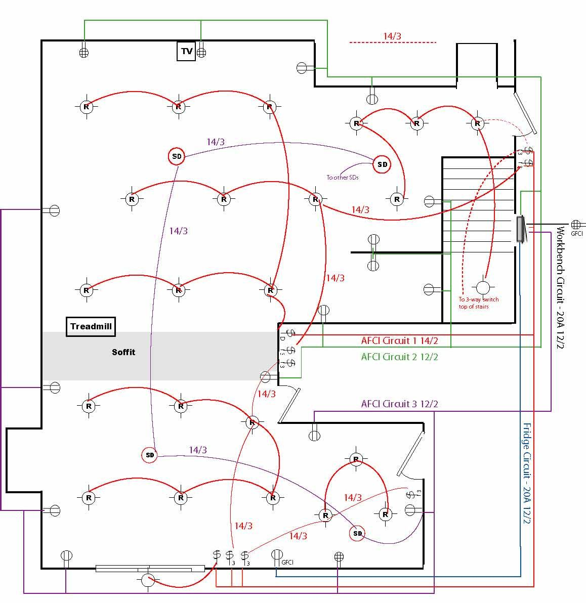 household electrical wiring diagrams and modern house for diagram beauteous [ 1158 x 1192 Pixel ]