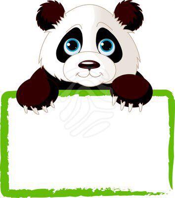 Pin By Gabriela Fortoul On Pandemia Panda Card Panda Art Cute Clipart