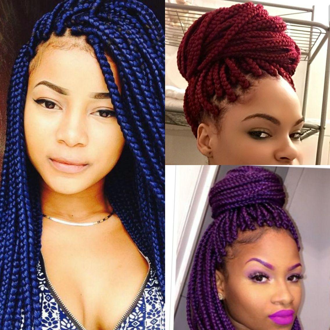 hair braids african american | 1-hairstyles | pinterest | box