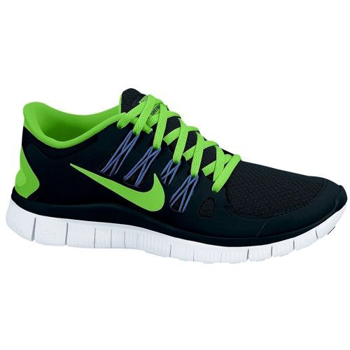 quality design 703ae 14e30 Nike Free 5.0+ - Women s - Running - Shoes - Black Flash Lime