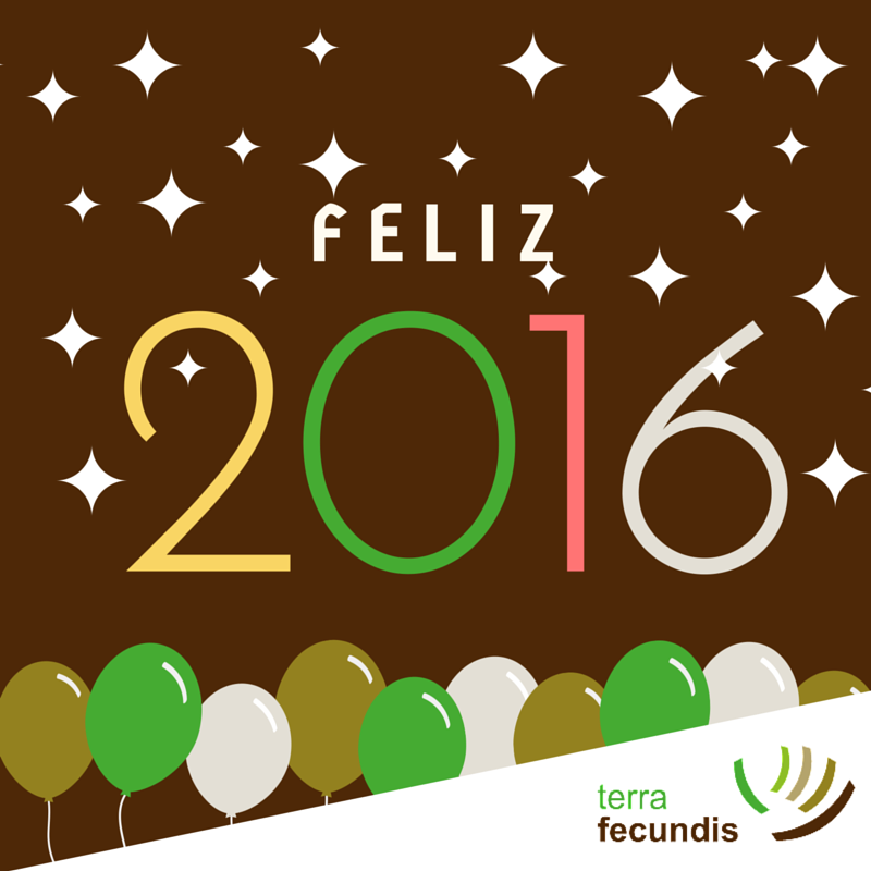 ¡Feliz 2016 de parte de Terra Fecundis!
