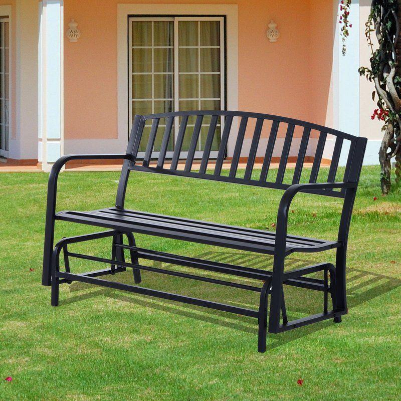 Mirakel Glider Bench Yard Furniture Bench Decks Porches