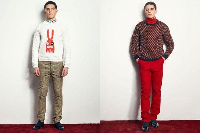 Peter Jensen Autumn/Winter 2014 Men's Lookbook | FashionBeans.com