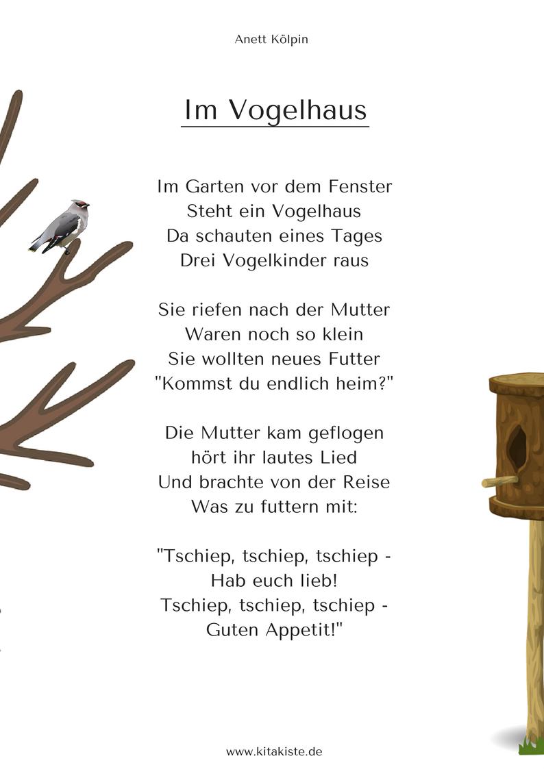 F hling gedichte lieder fingerspiele kinder for Herbstprojekt im kindergarten