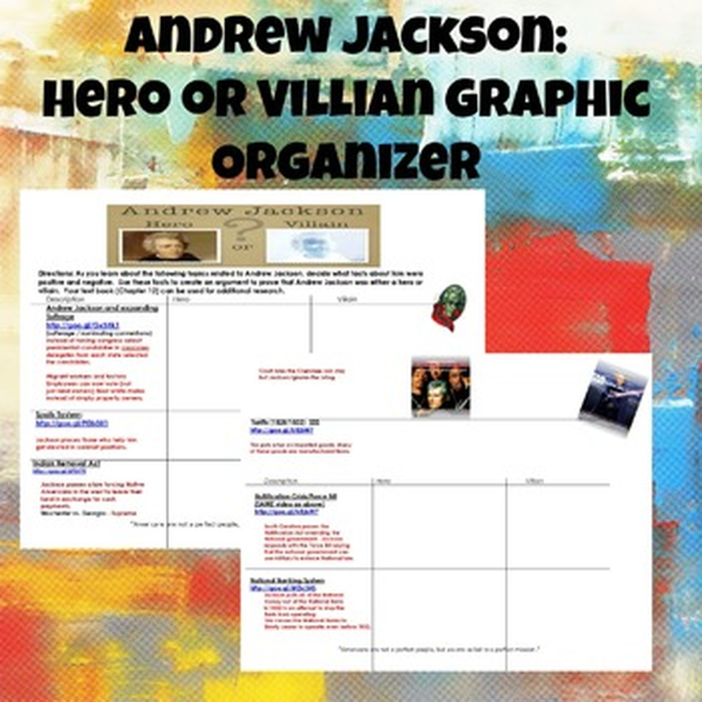 medium resolution of Andrew Jackson Hero or Villain   Andrew jackson