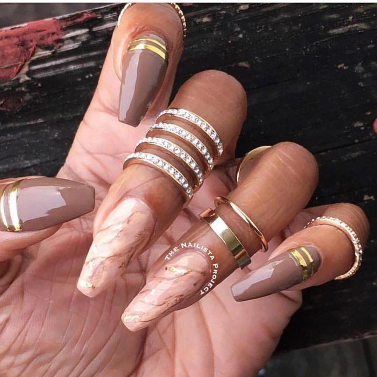 Pinterest@princess pooh✨ | Nail Colors | Pinterest | Nude nails ...