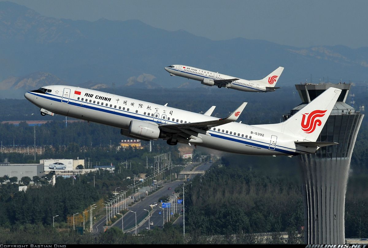 Boeing 73789L aircraft picture Air china, Aircraft