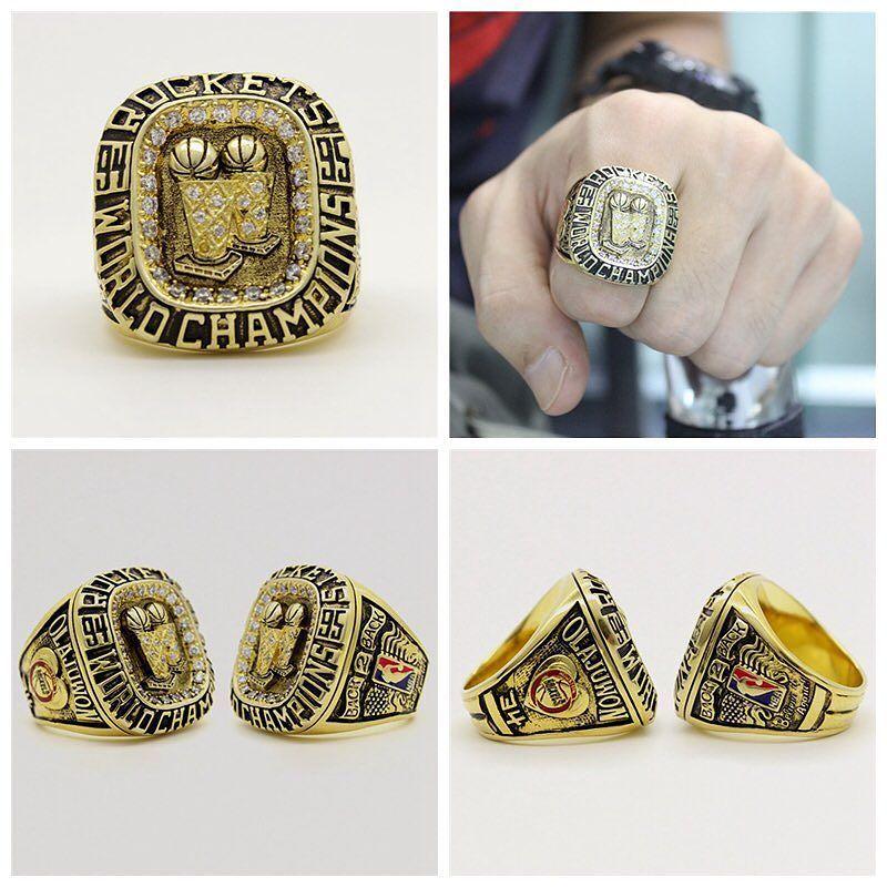 Houston Rockets NBA Basketball Championship Ring