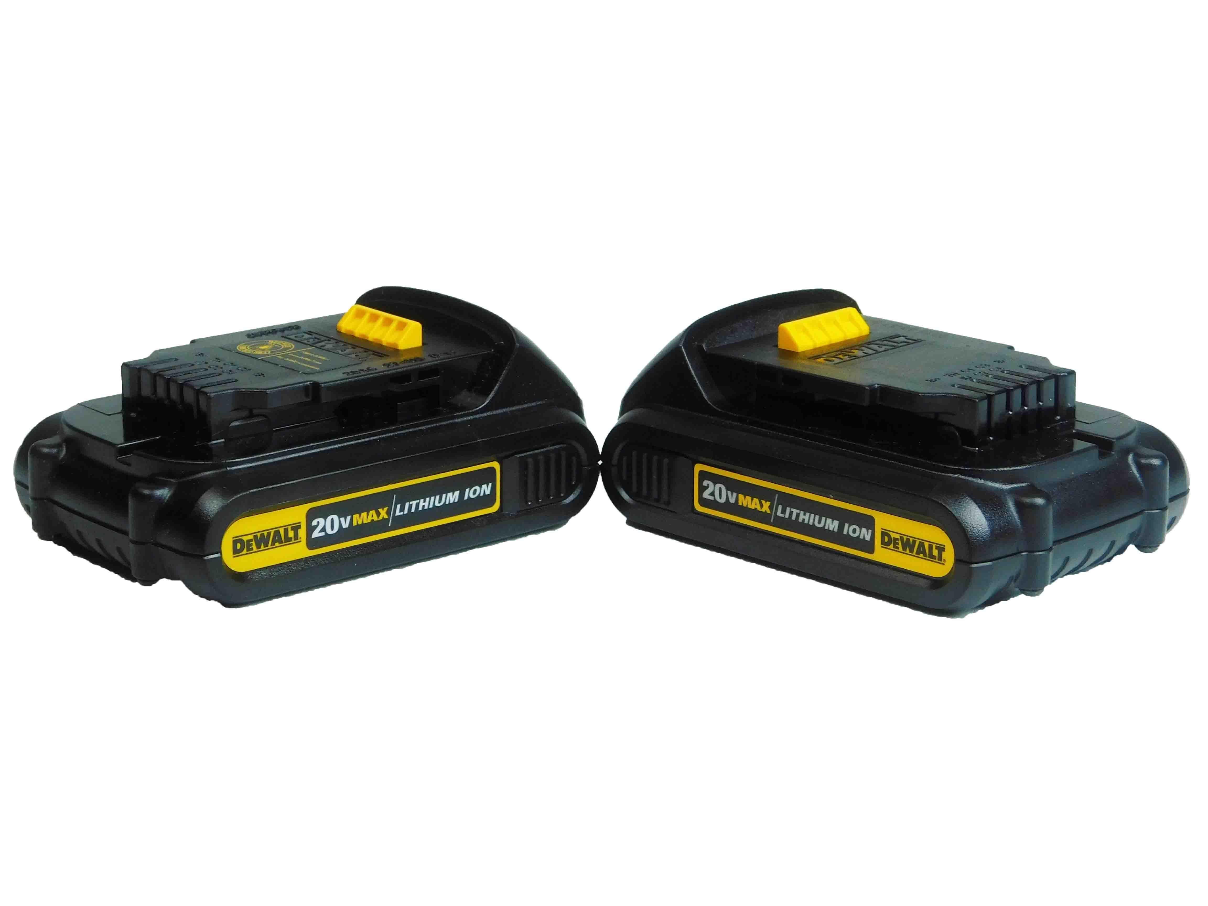 Dewalt Dcb201 20 Volt Max Li Ion Battery Pack 1 5ah Dcb201 Battery Battery Pack Dewalt