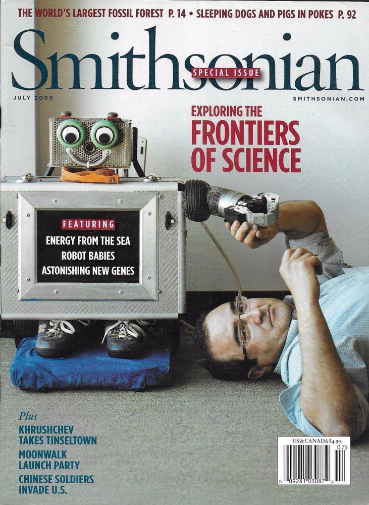 Smithsonian magazine Frontiers of science Sea energy Robot
