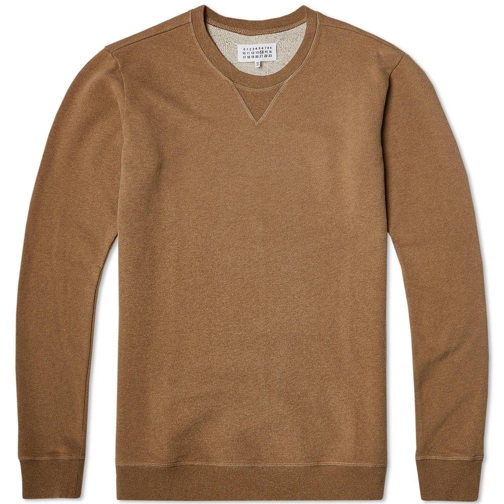 Maison Margiela 14 Compass Elbow Patch Crew Sweat Long Sleeve Tshirt Men Jordan 1 Retro High Retail Fashion [ 1000 x 1000 Pixel ]
