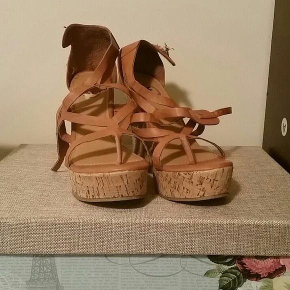 Wedge Sandals Fun sandals Carrini Shoes Sandals