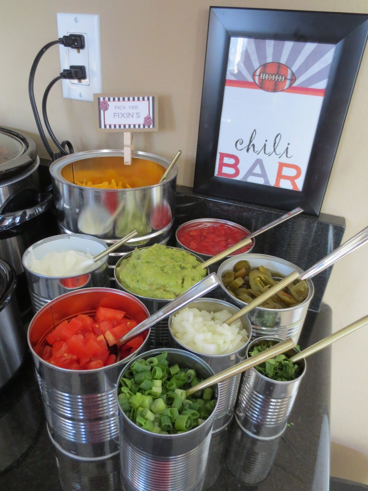 Ordinary Chili Dinner Party Menu Ideas Part - 9: Food · Chili Bar!
