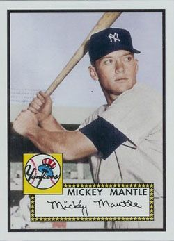Photo of Mickey Mantle Hits First Home Run