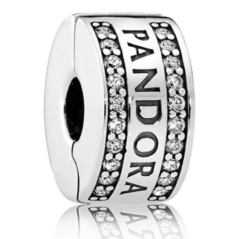 Pandora Women Silver Bead Charm - 792056CZ 4gaB60PJoc