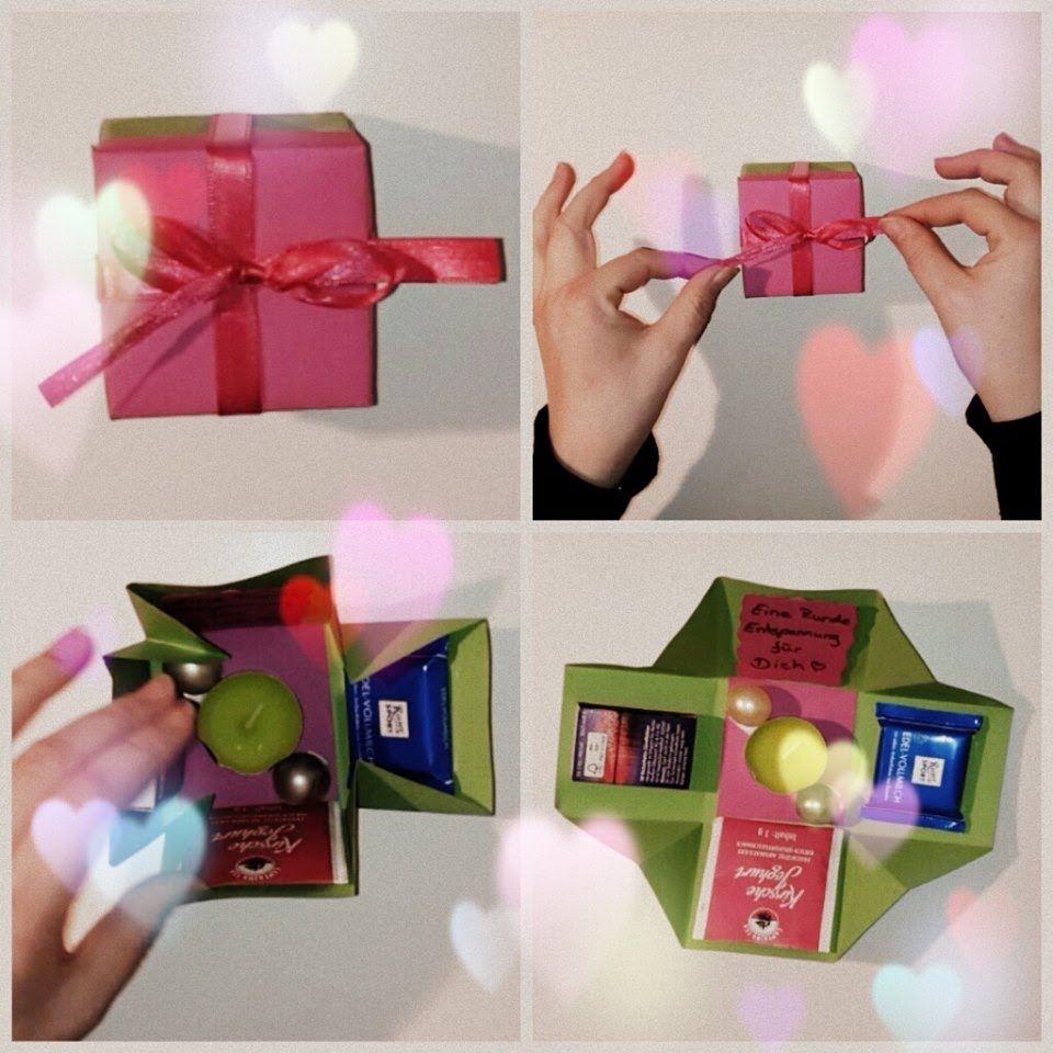 ... zum selber basteln  Geschenkideen  Pinterest  Basteln und Uhren