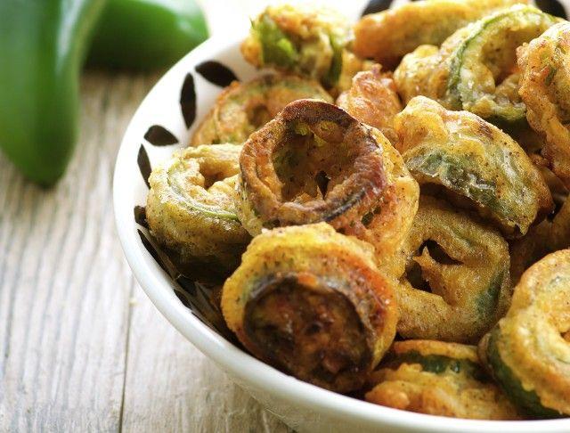 Deep-Fried Jalapeno Slices