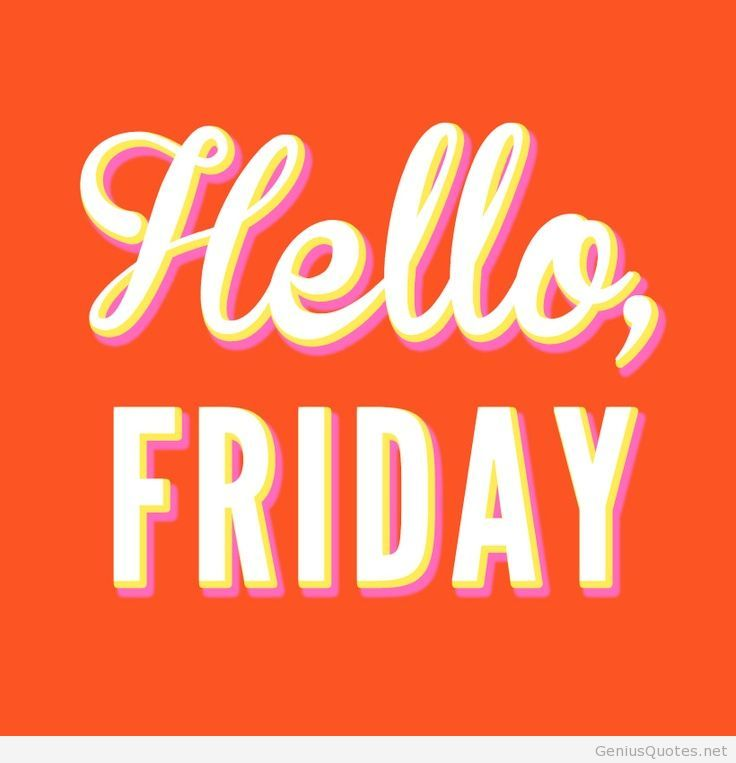 Hello Friday Hd Wallpaper Quote