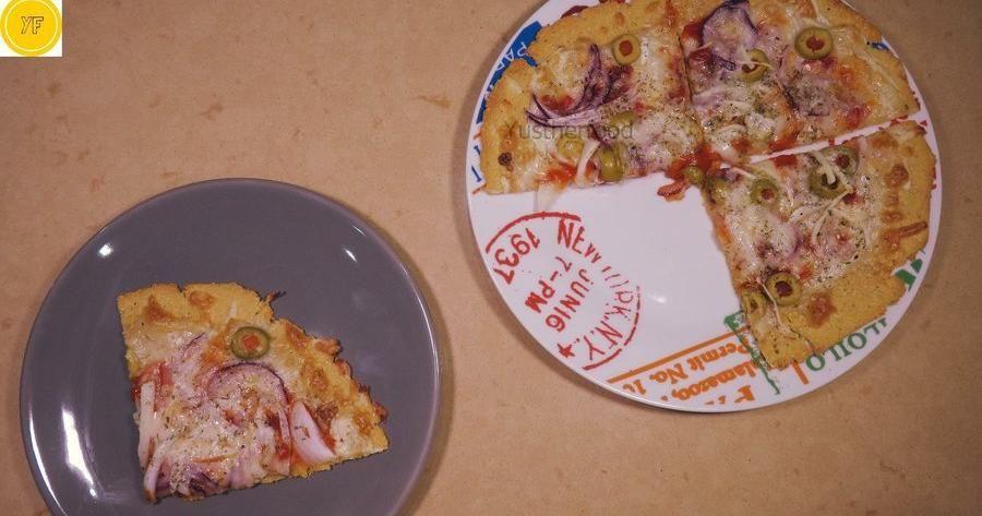 Cómo Hacer Masa De Pizza Con Harina De Garbanzos Pasta De Pizza Harina De Garbanzo Masa Para Pizza