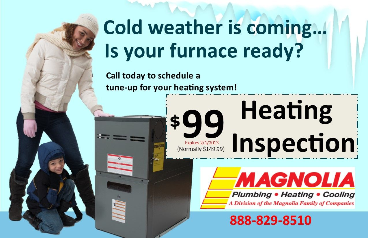 Is Your Home Ready For The Cold Weather We Can Help You Stay