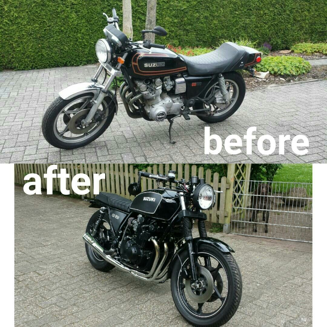 suzuki gs 850 custom motorcylcle suzuki custom jeremiah 1979 Suzuki Motorcycle Parts