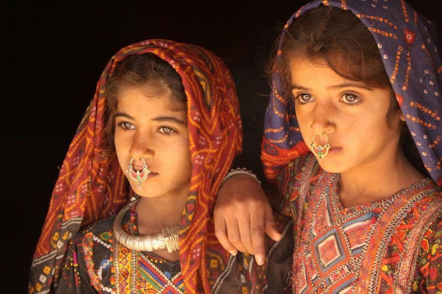Dhaneta Jat girls ~ Hidden tribe in Gujarat (India) The Dhanetas ...