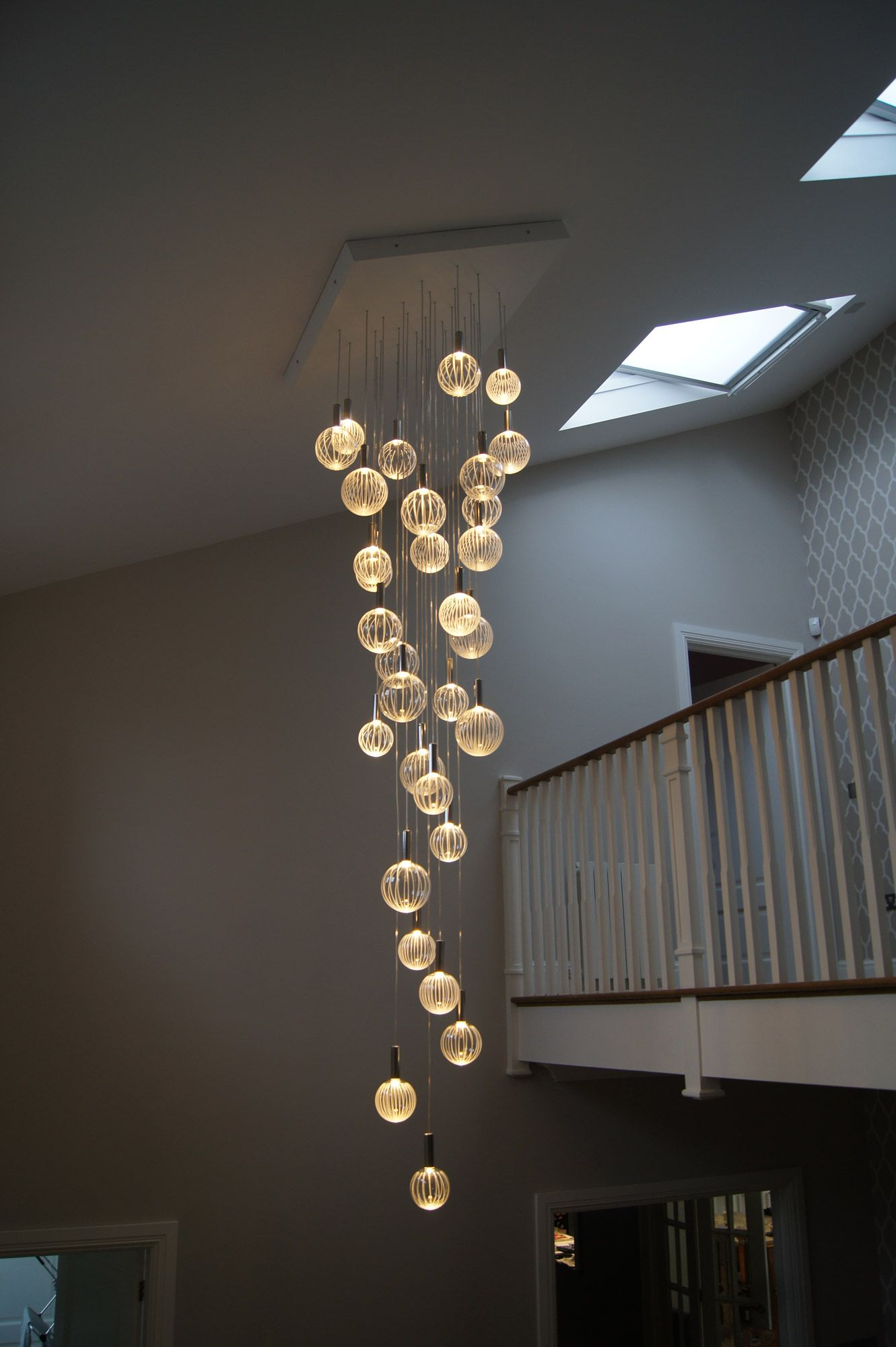 Elements Chandelier With A White Painted Moisture Resistant Mdf Top