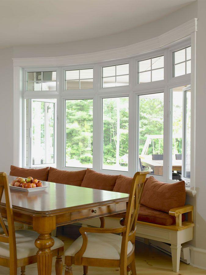 Bow Window Windows And Window Treatments Modern