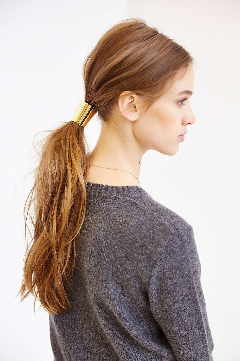 The prettiest hair accessories for your wedding day ponytail and