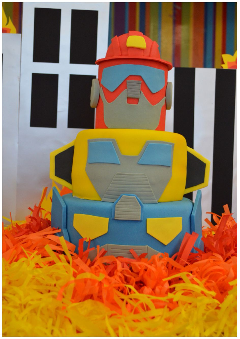Transformers Rescue Bots Diy Party Ideas Birthday Cake Diy