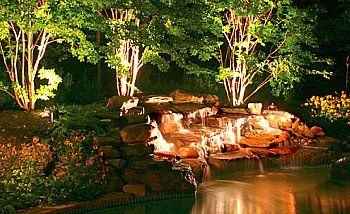 1000 images about outdoor lighting ideas on pinterest driveway lighting driveways and front elevation backyard landscape lighting