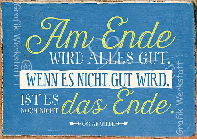 Am Ende   Postkarten   Grafik Werkstatt Bielefeld