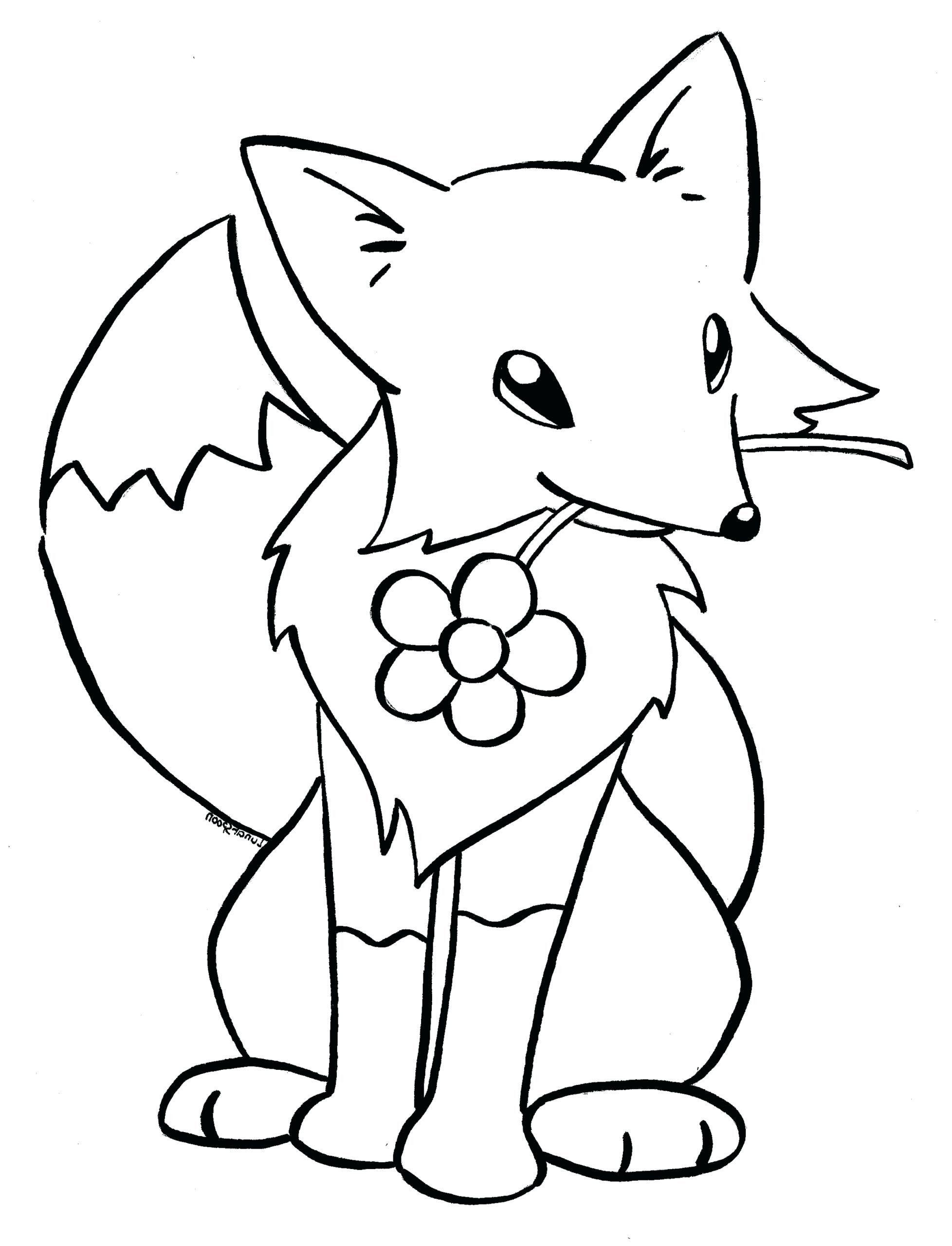Baby Fox Worksheet Education Com Fox Coloring Page Horse Coloring Pages Animal Coloring Pages