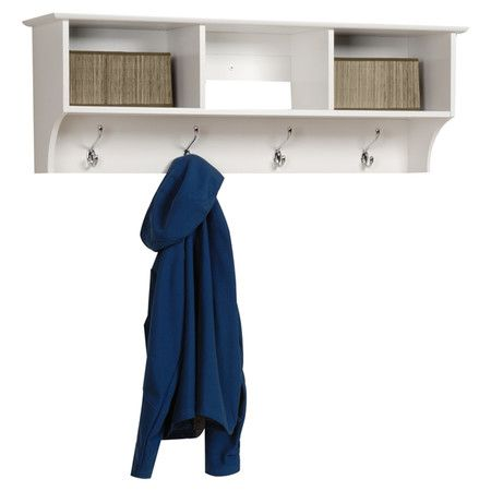 Monterey Wall Shelf in White