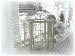Brocante vogelkooi oude en nieuwe vogelkooitjes