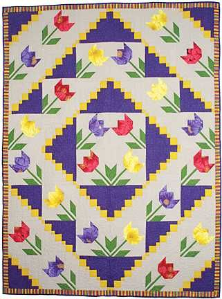 Tulip Quilt Pattern Google Search Quilts Pinterest Patterns