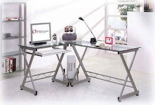 Our Best Home Office Furniture Deals Desk Glass Corner Desk Corner Standing Desk