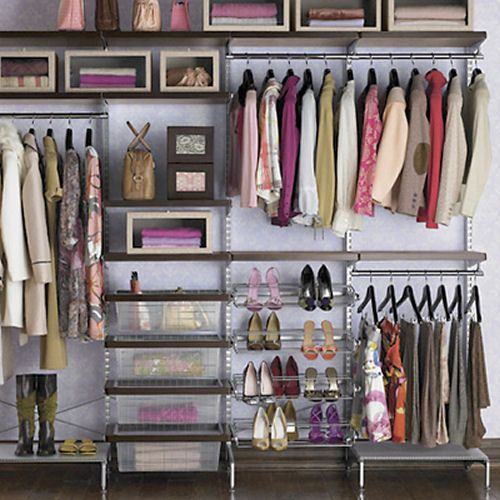 Closet Systems, Closet Organizers, Wire Closet Systems, Wood ...