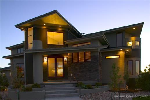 Photo of Dies ist ein atemberaubender moderner Hausplan. Die Garage für 3 Autos bietet viel Stauraum …